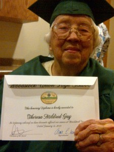 Mildred Diploma